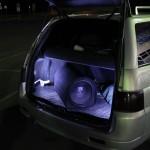 Подсветка багажника 2111 с помощью диодных лент