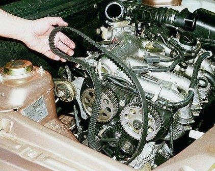 Ремень ГРМ на ВАЗ 2110 16 клапанов