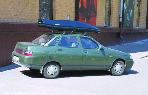 Закрытый багажник на крышу