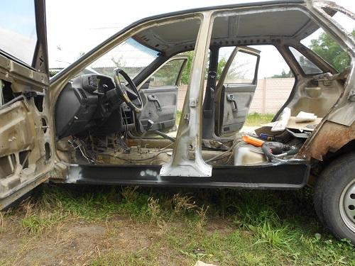 Фото №36 - ВАЗ 2110 ремонт кузова своими руками