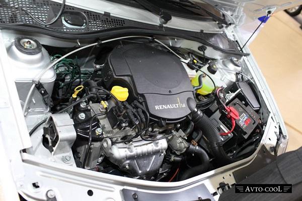 8 клапанный двигатель Renault