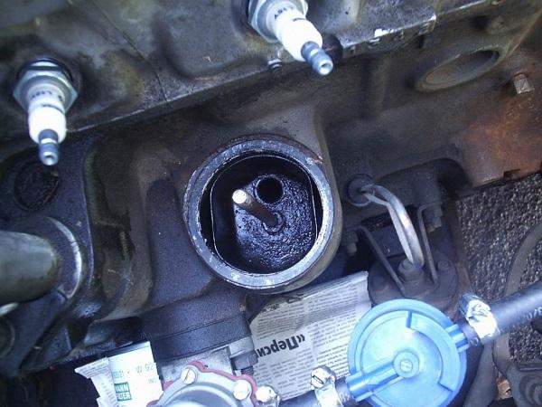 Сапун двигателя