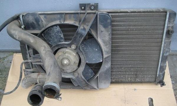 Замена радиатора охлаждения двигателя на ваз 2114