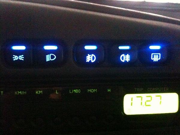 Установка диодов в комбинацию приборов