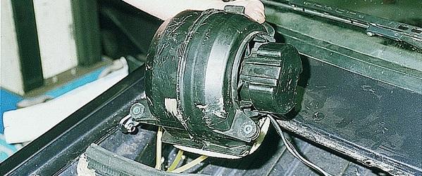 Замена мотора отопителя ваз 2108