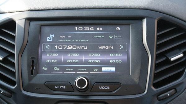 Аудиосистема с ЖК экраном